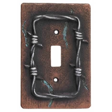 Gift Corral Barbwire Single Switchplate