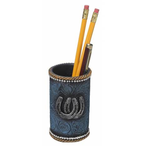 Horseshoes Pencil Cup