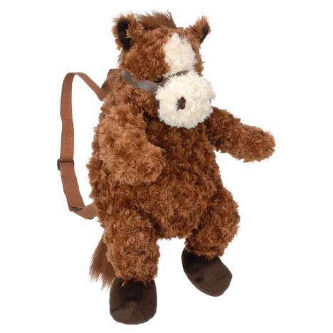 Tough-1 Soft Plush Horse Backpack
