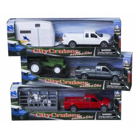 Gift Corral Truck & Trailer - 3 Pack