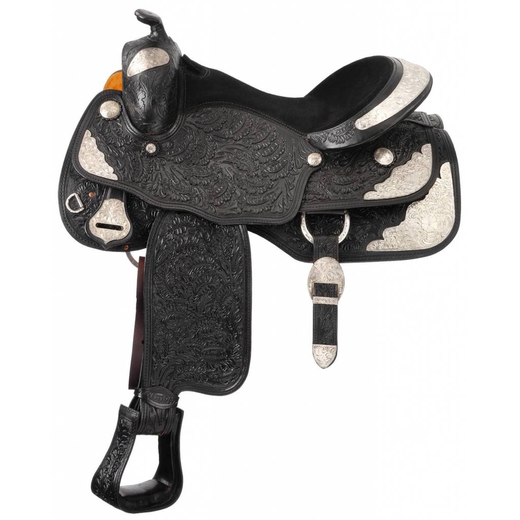 Silver Royal Premium Royal Oak Silver Show Saddle