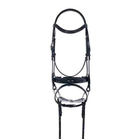Ovation Fantasia Dressage Bridle with Rein