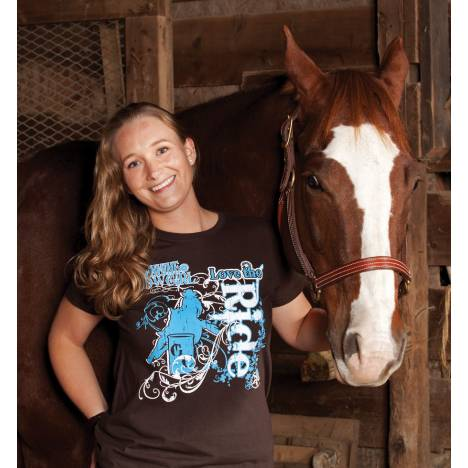 Genuine Ranch Brand Ladies' Love the Ride Tee
