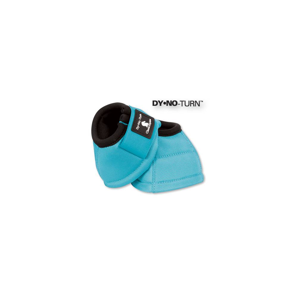 C-0SWL Large Classic Equine Dyno Turn Bell Boots Swirl