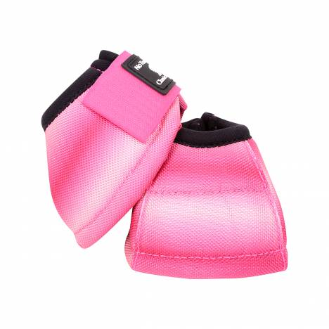Classic Equine DyNo Turn Designer Line Bell Boots - Pink Fusion