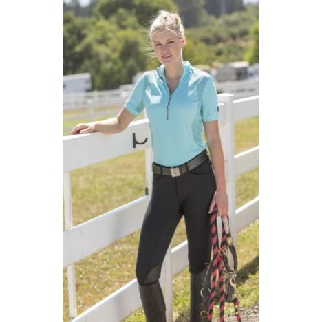 FITS Ladies Knee Patch PerforMax Kimberly Breeches - Black