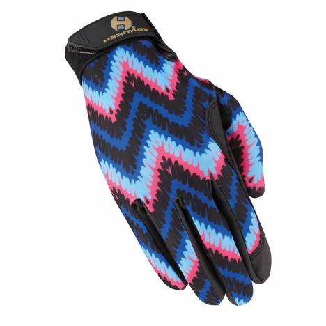 Heritage Performance Gloves Prints - Zigzag