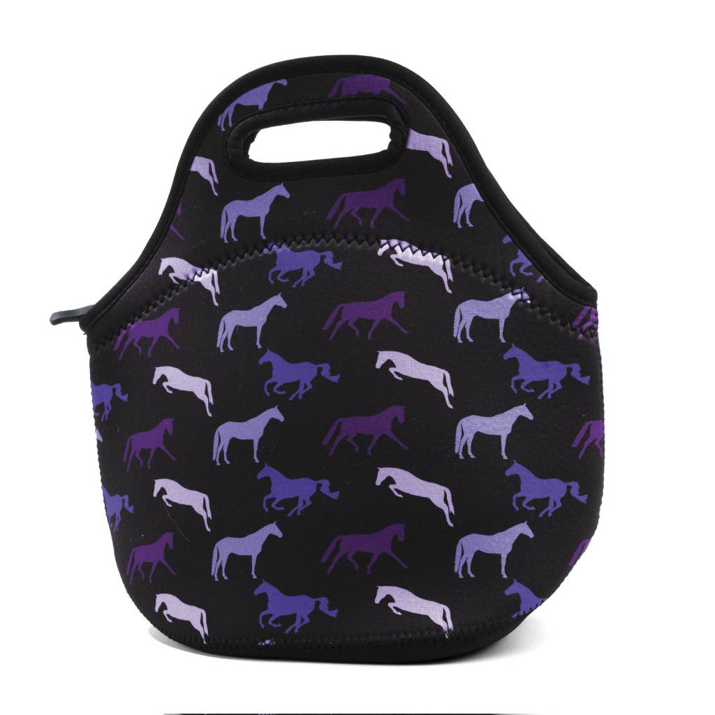 Tek Trek Neoprene Lunch Tote - Shades of Horses