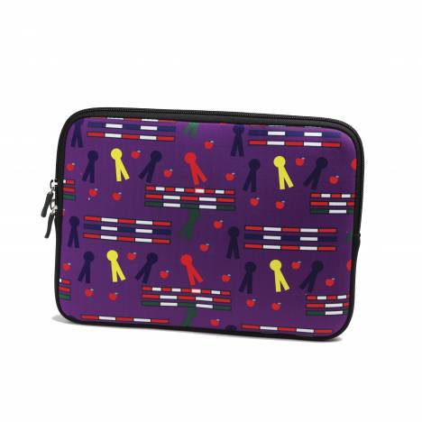 Tek Trek Neoprene iPad Sleeve - Rails & Ribbons