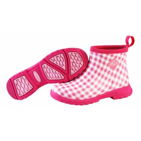 Muck Boots Ladies Breezy Ankle - Pink Gingham