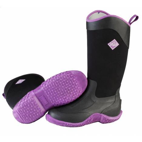 Muck Boots Ladies Tack II Tall - Black Purple