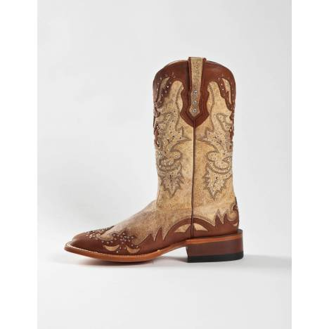 Johnny Ringo Womens Pocato Tan Western Boots JR922-43C
