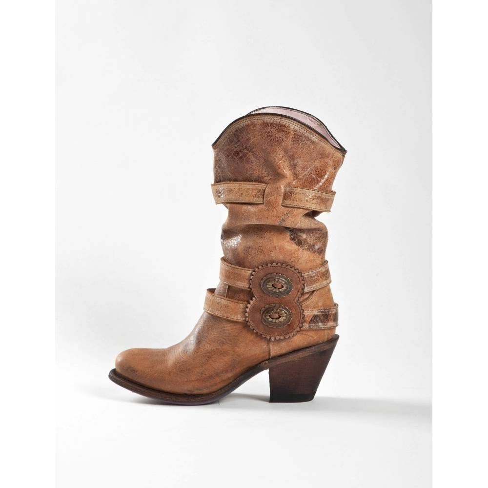 women shop for luxury sale retailer Johnny Ringo Women's Slouch Western Cowgirl Boots JRS200-1F