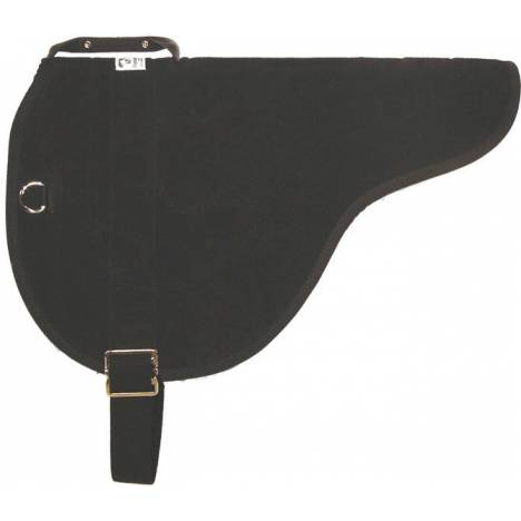 Diamond Wool Suede Bareback Pad with Cinch