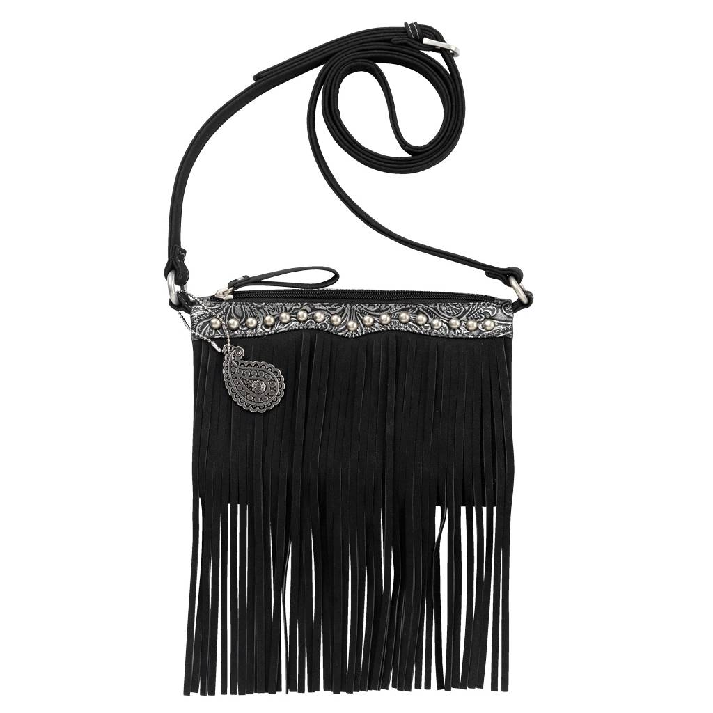 Bandana Sun Valley Fringe Crossbody/ Wallet