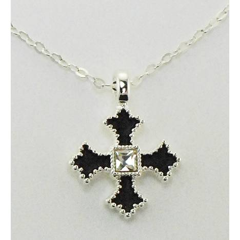 Western Edge Jewelry Filled Cross Necklace