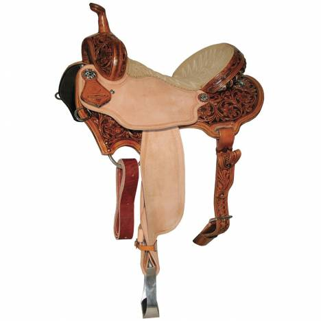 Reinsman 4282 Charmayne James Barrel Racer Saddle-Arizona Flower
