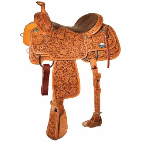 Reinsman 4401 Team Roper Saddle-Full Wyoming