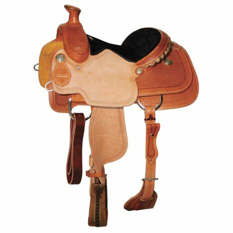 Reinsman 4503 Jr. Roper Saddle-Miniature Basket
