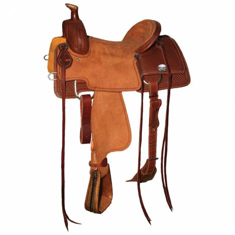 Reinsman 4604 Ranch Roper Saddle-Spider