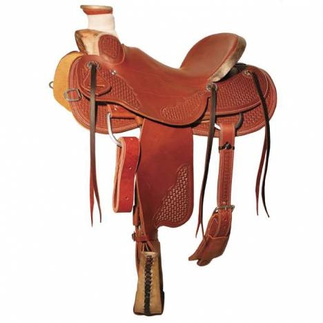 Reinsman 4609 Wade Ranch Saddle-Spider Stamp