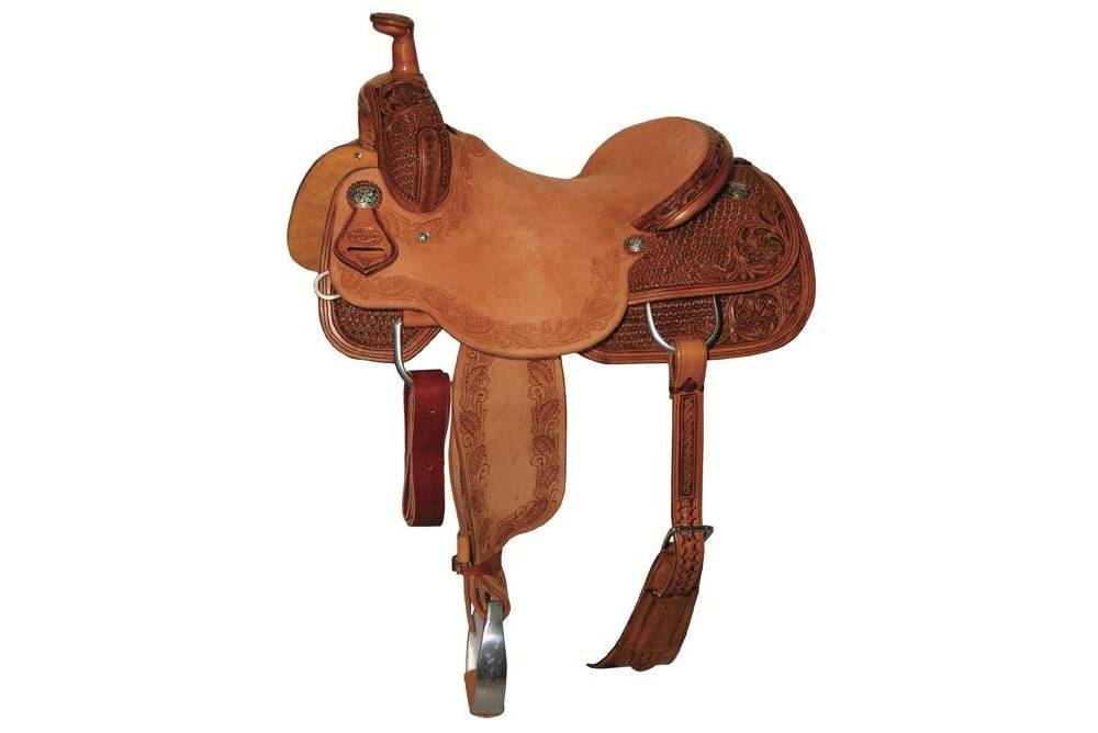 Reinsman 4822 Cow Horse Saddle-Combo Snowflake | HorseLoverZ