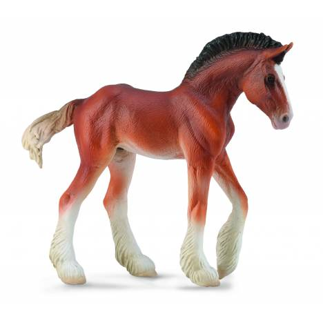 CollectA Clydesdale Foal Bay