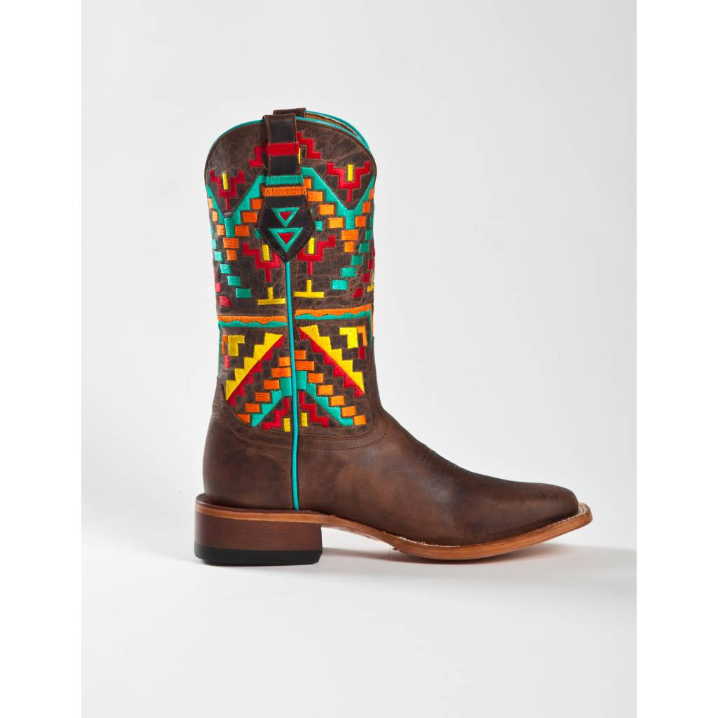 Johnny Ringo Jr922-39C Aztec Pattern Boot