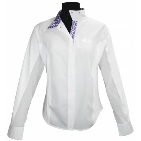 Equine Couture Ladies Kelsey long Sleeve Show Shirt