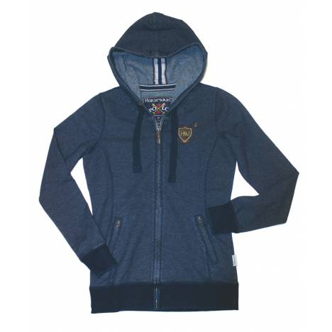 Horseware Polo Ladies' Denim Hoodie