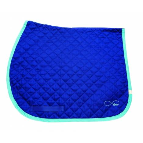 Lettia Embroidered Baby Pad - Royal with Infinity Love