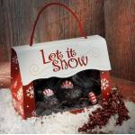 EQUUS German Minty Holiday Tote - Red - 1 LB