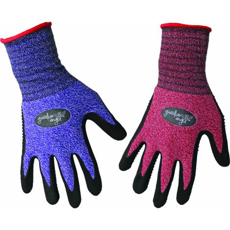 Boss Guardian Angel Dotted Nitrile Palm Knit Wrist - Assorted - Small