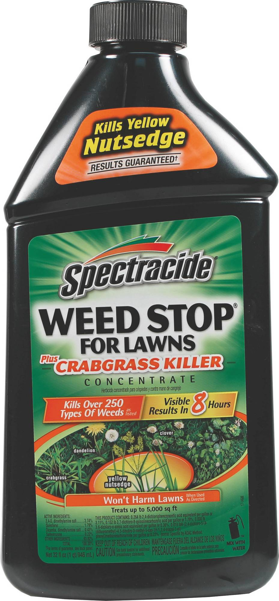 spectracide weed and grass killer concentrate. Black Bedroom Furniture Sets. Home Design Ideas