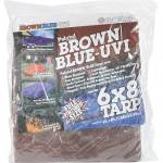 Brown/Blue Tarps (3.1Oz)
