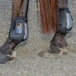 10 OFF Professionals Choice Pro Performance Memory Foam Open Front Show Jumping Boot Rear