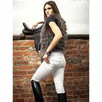 2kGrey Ladies PAS OP Full Seat Breeches
