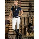 2kGrey Ladies PAS OP Knee Patch Breeches