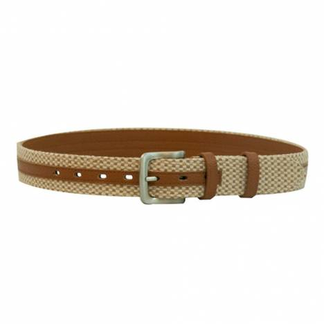 WOW Woven Brown with Tan Belt