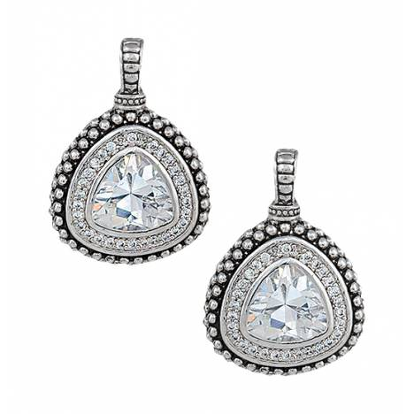 Montana Silversmiths Western Drop Rounded Triangle Earrings