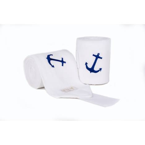 Lettia Anchor Embroidered Polo Wraps