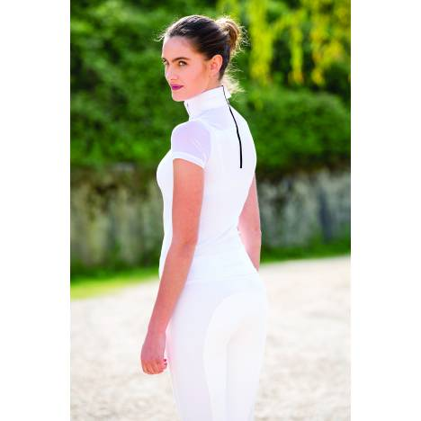 Horseware Ladies Emma Pique Short Sleeve Competition Top