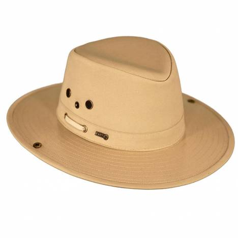 Outback Trading Men's River Guide II Hat With Chin Strap