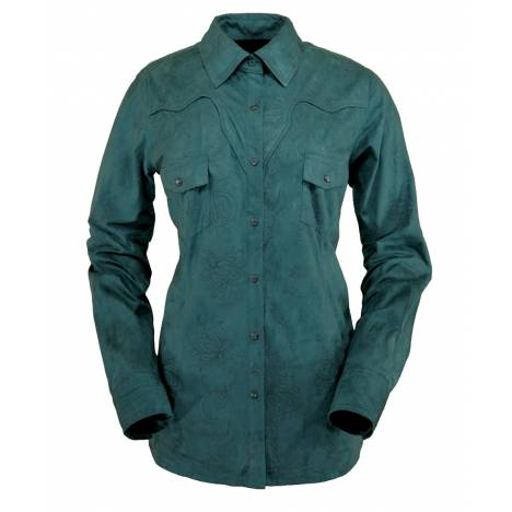 Outback Trading Ladies' Tracie Faux Leather Shirt