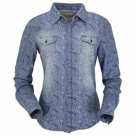 Outback Trading Ladies' Pearl Paisley Shirt