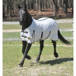 Gatsby Softmesh Standard Fly Sheet - White with Black Trim - 78