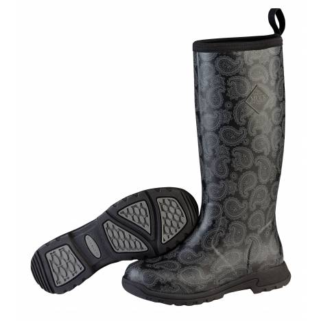 Muck Boots Ladies Breezy Tall - Black Bandana