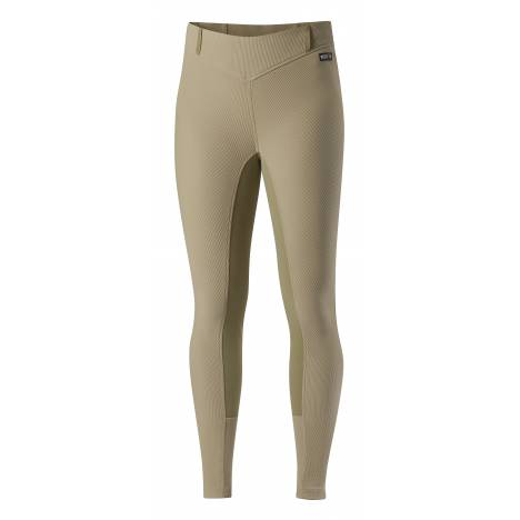 Kerrits Ladies Microcord Fullseat Breech - Tan