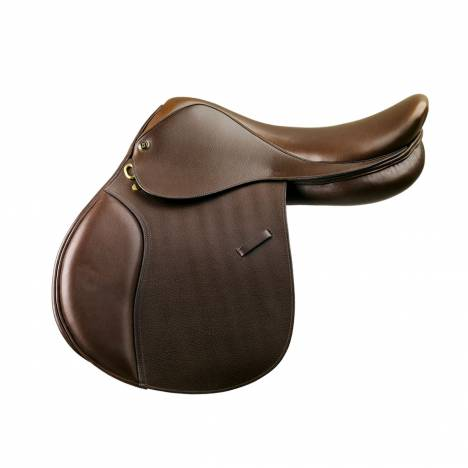 Camelot Kids Close Contact Saddle- Dark Brown
