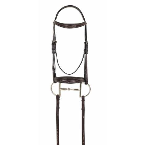 Ovation ATS Square Raised Taper Nose Fancy Stitch Bridle